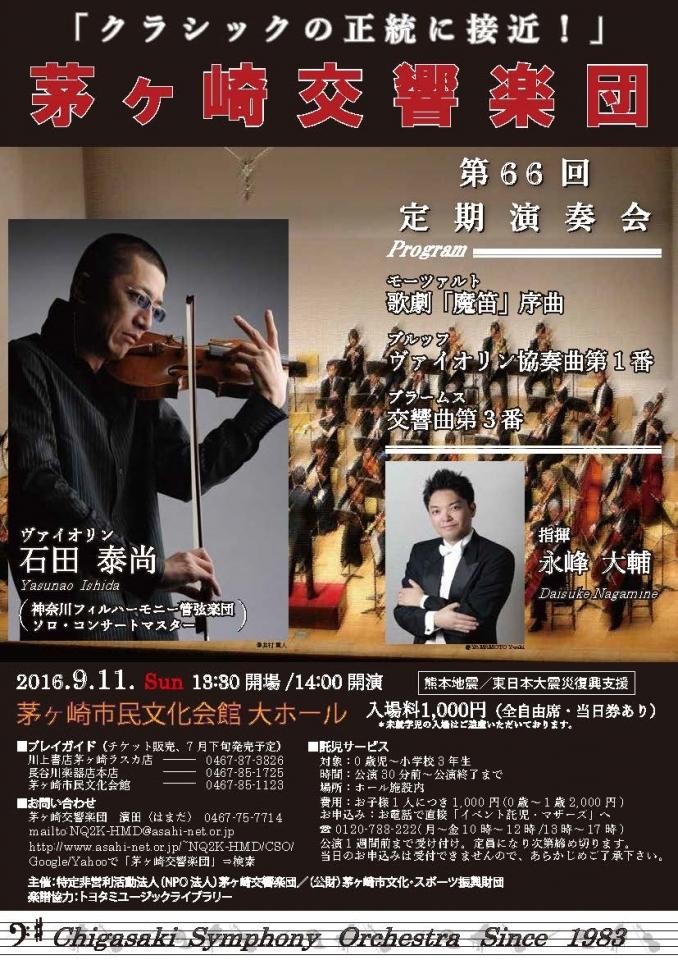 茅ヶ崎交響楽団 第66回定期演奏会