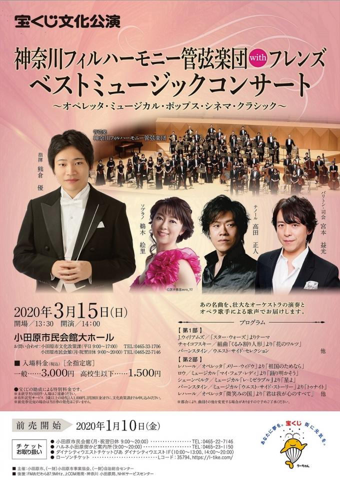 神奈川フィルハーモニー管弦楽団withフレンズ ベストミュージックコンサート