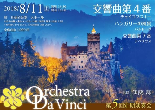 Orchrstra Da Vinci 第5回定期演奏会
