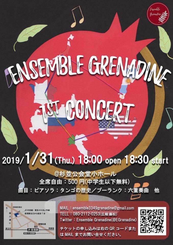 Ensemble Grenadine 1st Concert
