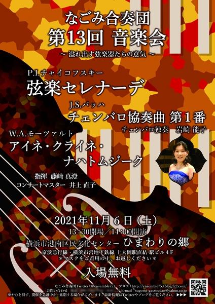 なごみ合奏団 第13回音楽会