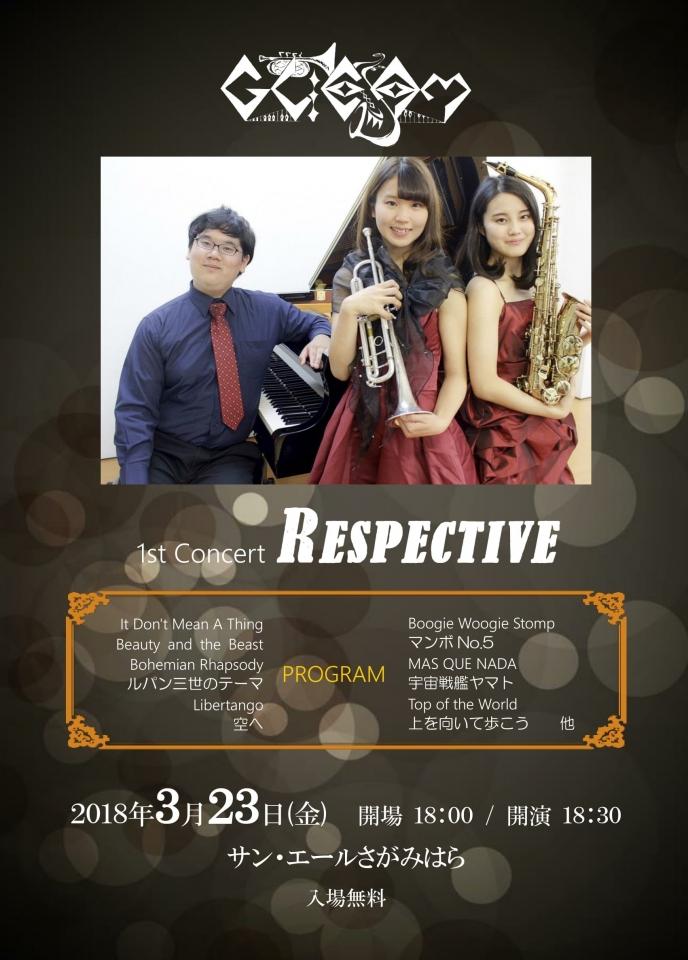 GLEAM GLEAM 1st Concert RESPECTIVE