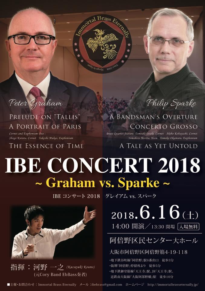 Immortal Brass Eternally IBE Concert 2018 ~Graham vs. Sparke~