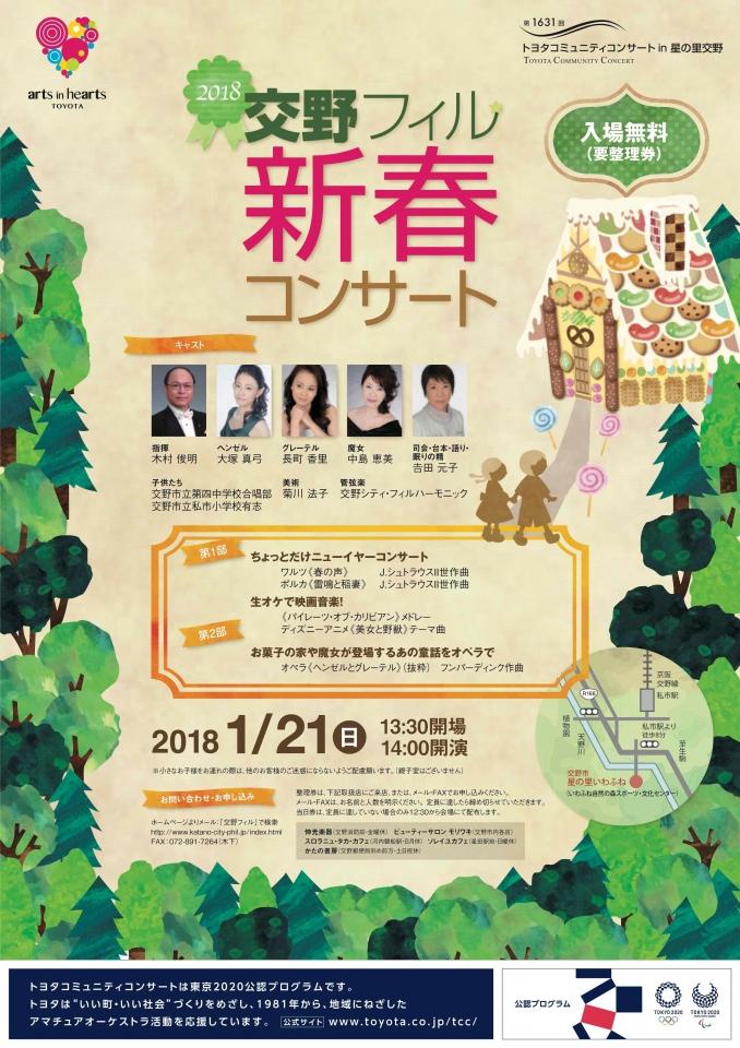 交野シティ・フィルハーモニック 新春コンサート