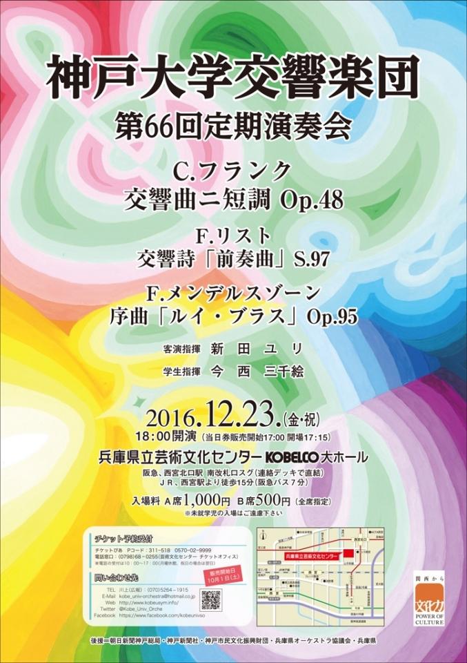 神戸大学交響楽団 第66回定期演奏会
