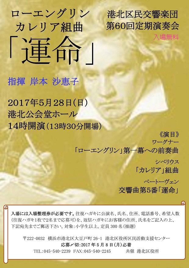 港北区民交響楽団 第60回定期演奏会