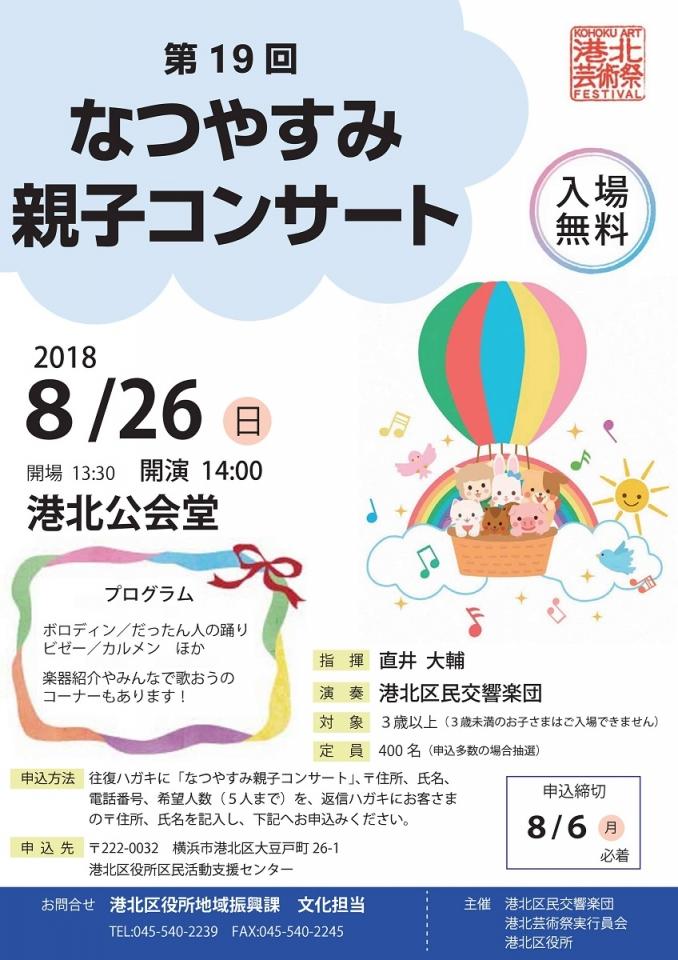 港北区民交響楽団 第19回なつやすみ親子コンサート