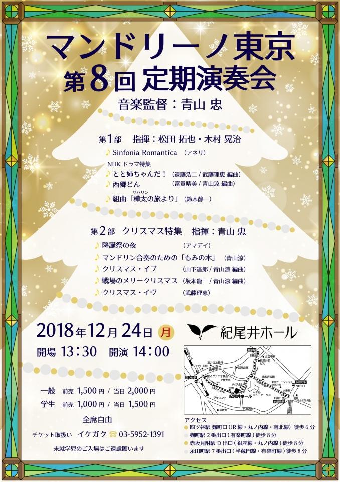 マンドリーノ東京 第8回定期演奏会