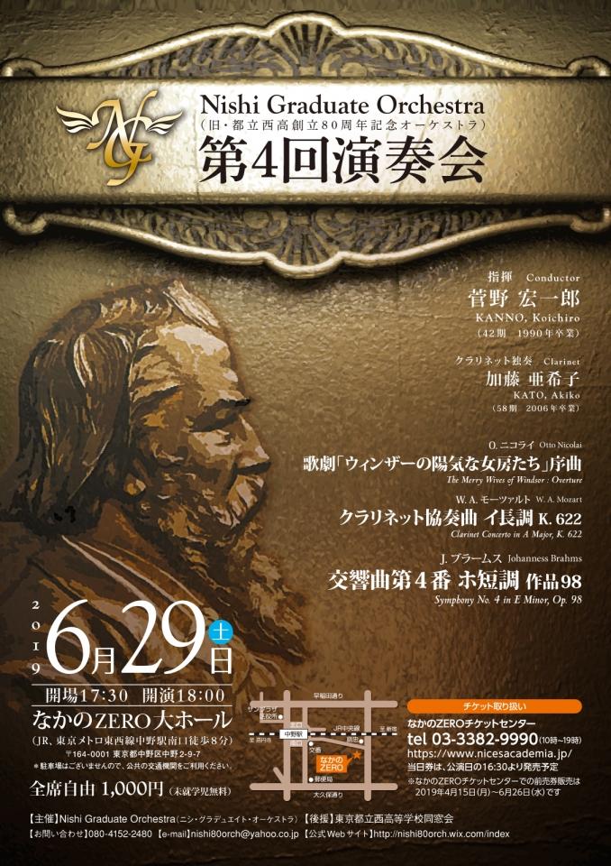 Nishi Graduate Orchestra 第4回演奏会
