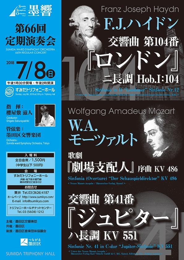 墨田区交響楽団  第66回定期演奏会