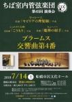 ちば室内管弦楽団 第45回演奏会