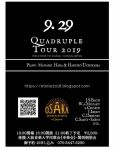 Quadruple  クワドラプルツアー大阪公演②