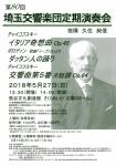 埼玉交響楽団 第80回定期演奏会