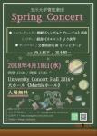 玉川大学管弦楽団 スプリングコンサート2018