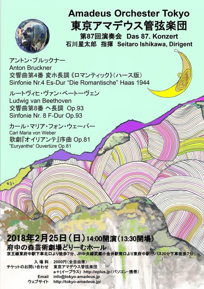 東京アマデウス管弦楽団 第87回演奏会
