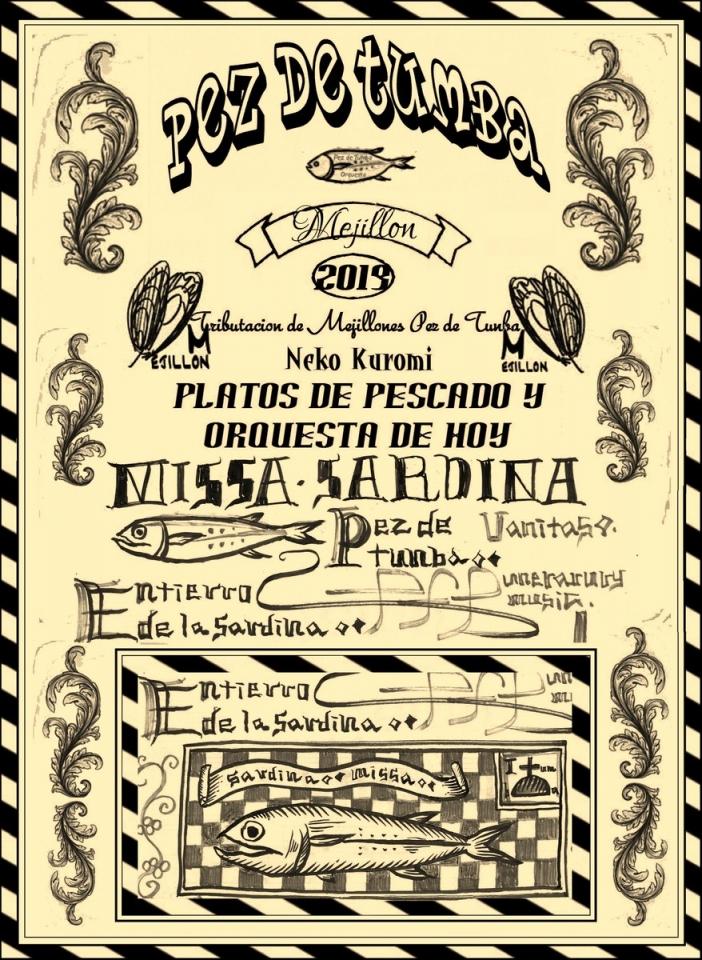 風刺とユーモアのスペイン楽団「墓の魚 PEZ DE TUMBA」 スペインの魔女の音楽